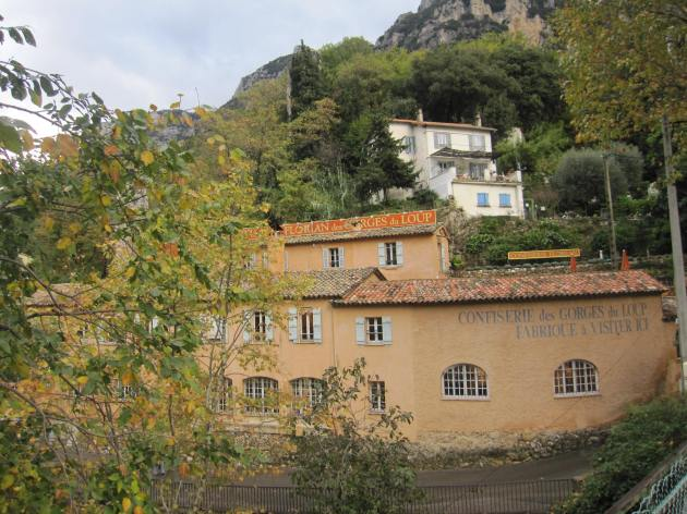 Visiting Florian Confiserie in Tourettes-sur-Loup (north of Cannes)